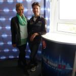 zu Gast bei Radio Hannover